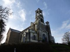 Eglise Saint-Louis-Marie Grignion de Montfort -  l'eglise de montfort sur meu