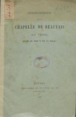 Chapelle Notre-Dame-de-Beauvais -