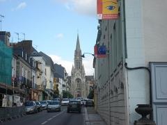 Eglise Saint-Martin -  l'eglise de vitré