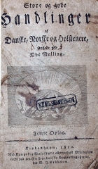 Villa Greystones - English: Title page of Ove Mallings