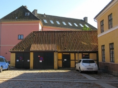 Villa Greystones - English: The southern side wing of Rektorboligen in Roskilde, Denmark