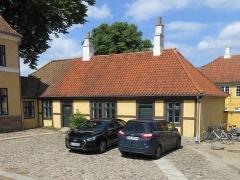 Villa Greystones - English: The northern side wing of Rektorboligen in Roskilde, Denmark