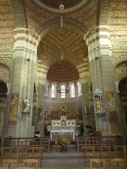 Eglise Saint-Malo -  interieur de l'eglise de st malo du phily