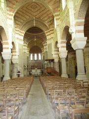 Eglise Saint-Malo -  L'intérieur de l'église de Saint-Malo-de-Phily (35).