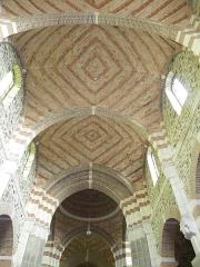 Eglise Saint-Malo -  le plafond de l'eglise de st malo de phily