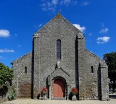 Église Notre-Dame - Français:   Église Notre-Dame d\'Hédé (35). Façade occidentale.