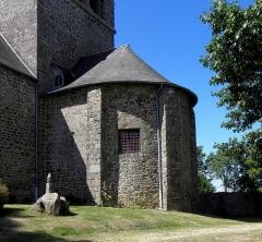 Église Notre-Dame - Français:   Église Notre-Dame d\'Hédé (35). Abside.