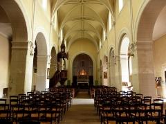Église Notre-Dame - Français:   Église Notre-Dame d\'Hédé (35). Intérieur.