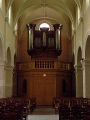 Église Notre-Dame - Français:   Église Notre-Dame d\'Hédé (35). Grandes orgues.