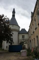 Château du Parc et manufacture de drap du château du Parc - Français:   Le château du Parc à Châteauroux en mai 2014