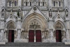 Eglise principale Saint-André - Français:   Portails de l\'église Saint-André, Châteauroux, Indre, France