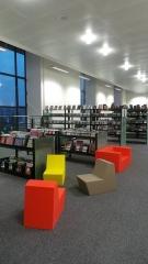 Bibliothèque municipale - English: Plateau de lecture