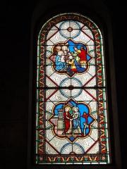 Eglise paroissiale Notre-Dame - Français:   Montbazon (Indre-et-Loire) église, vitrail 01