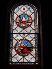 Eglise paroissiale Notre-Dame - Français:   Montbazon (Indre-et-Loire) église, vitrail 03