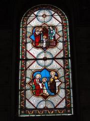 Eglise paroissiale Notre-Dame - Français:   Montbazon (Indre-et-Loire) église, vitrail 04