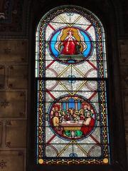 Eglise paroissiale Notre-Dame - Français:   Montbazon (Indre-et-Loire) église, vitrail 05