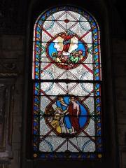 Eglise paroissiale Notre-Dame - Français:   Montbazon (Indre-et-Loire) église, vitrail 06