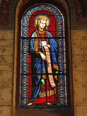 Eglise paroissiale Notre-Dame - Français:   Montbazon (Indre-et-Loire) église, vitrail 08