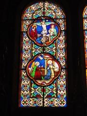 Eglise paroissiale Notre-Dame - Français:   Montbazon (Indre-et-Loire) église, vitrail 09