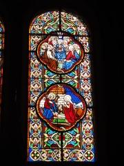 Eglise paroissiale Notre-Dame - Français:   Montbazon (Indre-et-Loire) église, vitrail 10
