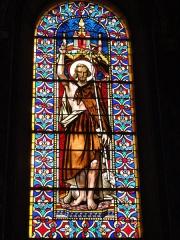 Eglise paroissiale Notre-Dame - Français:   Montbazon (Indre-et-Loire) église, vitrail 12