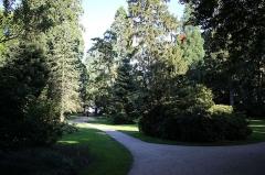 Jardin des Prébendes d'Oé -  une des artères du jardin des Prébendes de Tours.