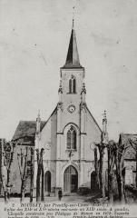 Eglise paroissiale Saint-Laurent - Français:   Façade de l\'église St Laurent de Boussay (37)