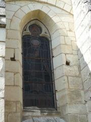 Eglise paroissiale Saint-Laurent - Français:   Fenêtre gothique de l\'église St Laurent de Boussay (37)