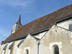 Eglise paroissiale Saint-Laurent - Français:   Nef de l\'église St Laurent de Boussay (37)