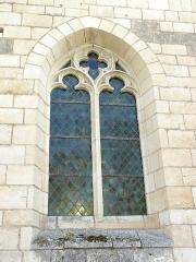 Eglise paroissiale Saint-Laurent - Français:   Ouverture gothique de l\'église St Laurent de Boussay (37)
