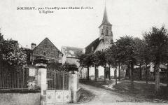 Eglise paroissiale Saint-Laurent - Français:   Place de l\'église à Boussay (37)