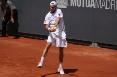 Château d'Hodebert -  Andreas Seppi against Sam Querrey in the 2009 Mutua Madrileña Madrid Open second round