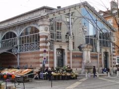 Marché couvert dit Halle Sainte-Claire - English: Halle Sainte-Claire à Grenoble