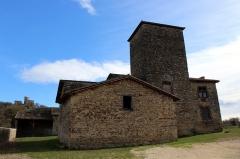 Maison forte des Allinges - Français:   Maison forte des Allinges.