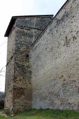 Maison forte des Allinges - Français:   Maison forte des Allinges (arrière).