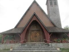 Hôtel de Lezay-Marnézia - Église Saint-Georges de Lavancia-Epercy.