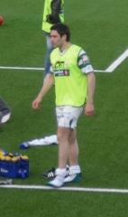 Beffroi dit tour de l'Horloge - English: Norwegian footballer Sindre Marøy