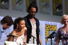 Château de Chaussin -  Thandie Newton and Rodrigo Santoro speaking at the 2017 San Diego Comic Con International, for