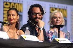 Château de Chaussin -  Thandie Newton, Rodrigo Santoro and Ingrid Bolsø Berdal speaking at the 2017 San Diego Comic Con International, for