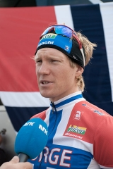 Château Saint-Martin - English: Lars Petter Nordhaug during the 2009 Road World Championship in Mendrisio, Switzerland.