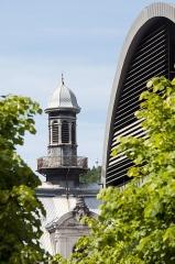 Groupe scolaire - Hôtel de ville - Justice de paix - Français:   Hôtel de ville et Musée de la lunette