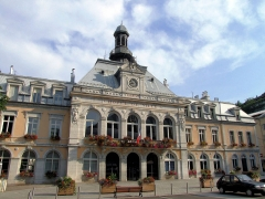 Groupe scolaire - Hôtel de ville - Justice de paix -  Morez - Hôtel de ville