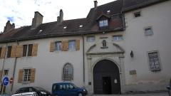 Monastère des Clarisses - Nederlands: Sint-Claraklooster te Poligny, (Jura), Frankrijk