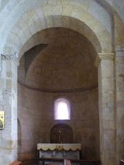Eglise Saint-Martin -  Absidiole de droite de l'église Saint-Martin de Pouillon