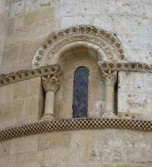 Eglise Saint-Martin -  Fenêtre de l'église Saint-Martin de Pouillon