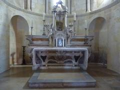 Eglise Saint-Martin -  Maître-autel de l'église Saint-Martin de Pouillon