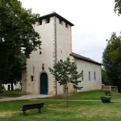 Eglise Saint-Avit - Français:   Église Saint-Avit à Saint-Avit (Landes, Aquitaine, France).