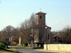 Eglise Saint-Jean-Baptiste - Français:   Église Saint-Jean-Baptiste de Bourdalat, dans le département français des Landes
