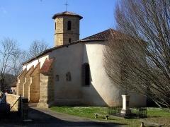Eglise Saint-Jean-Baptiste - Français:   Église Saint-Jean-Baptiste de Bourdalat