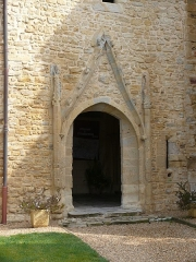 Eglise Sainte-Marie - English: Our Lady's church in Sainte-Marie-de-Gosse (Landes, France)